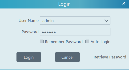 Login to the CMS