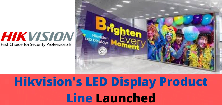 Hikvision's LED Display Product Line