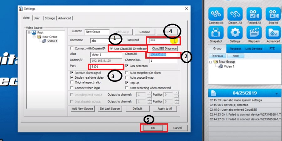 CloudSEE for Windows
