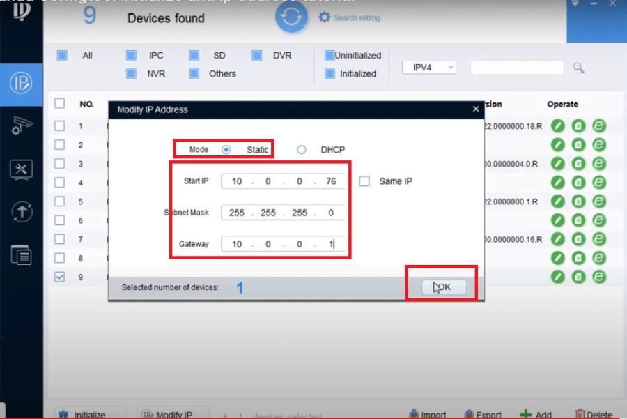 Dahua Config Tool for Mac