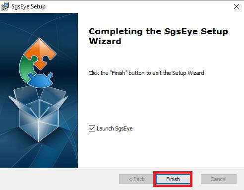 SgsEye for Windows