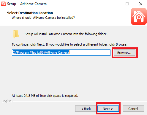 AtHome Camera for PC