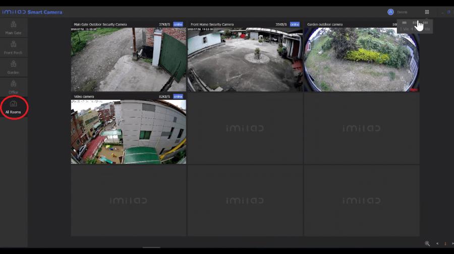 MI Home security Camera App for Mac