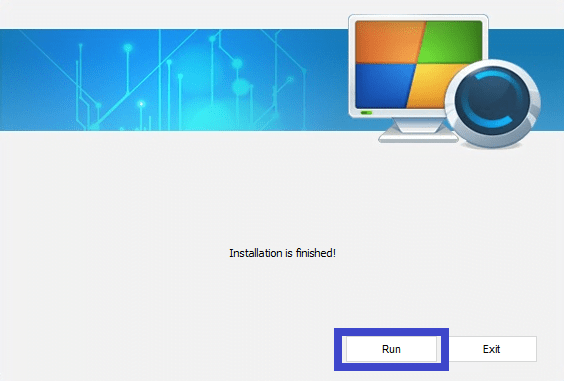 Run the software on PC