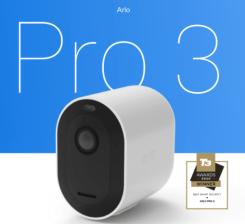 Arlo Pro 3 Wireless Smart Indoor Wi-Fi Security Camera