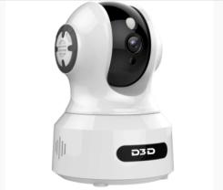 D3D Ultra HD Pan Tilt Home Security