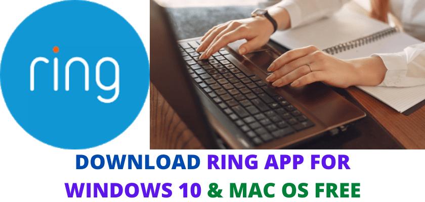 RING APP FOR WINDOWS