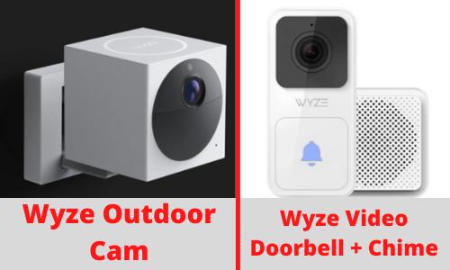 Wyze Outdoor Cam and Doorbell