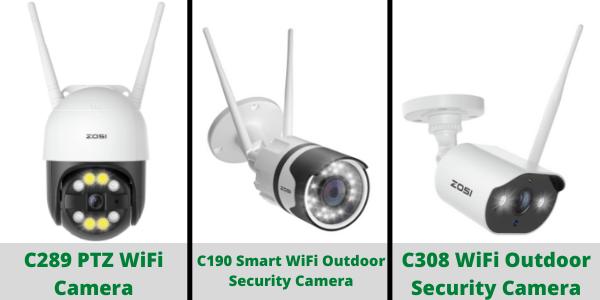 WiFi Outdoor Surveillance Cameras