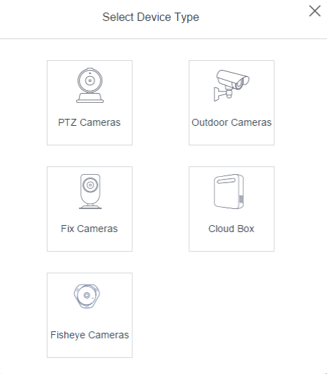 Select the device to add