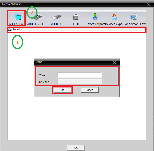 Device Manager of Guard PTCAM