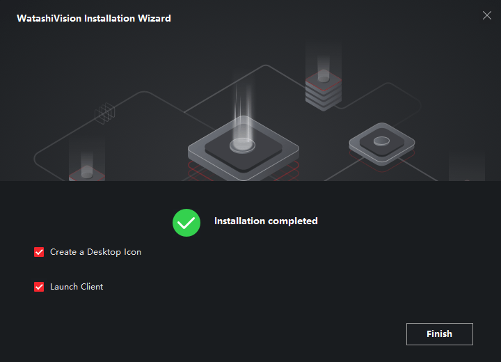 Finish The Installation of the CMS
