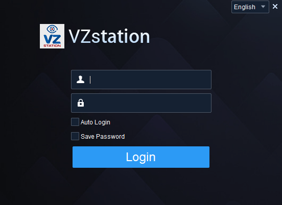 Logging into the VZView For Windows