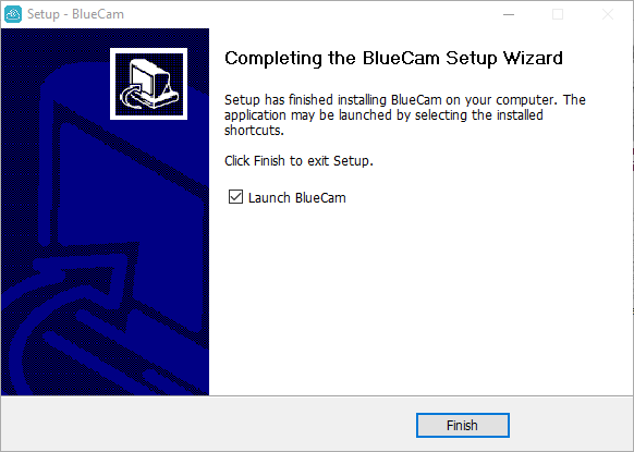 Finish the installation of software