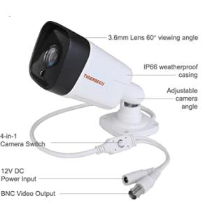 TIGERSECU TS-5MP-60 B01 Super HD Outdoor Security Camera3