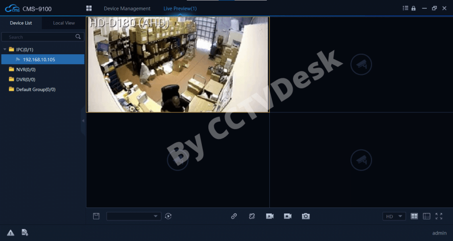 HIP CCTV for PC