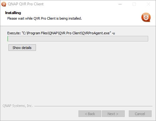 Progress of the installing Vmobile on PC