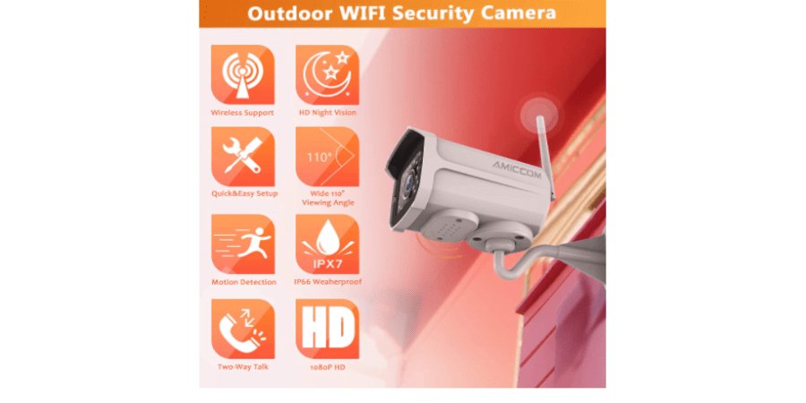 AMICCOM Z-5 New Standalone Outdoor Camera 1