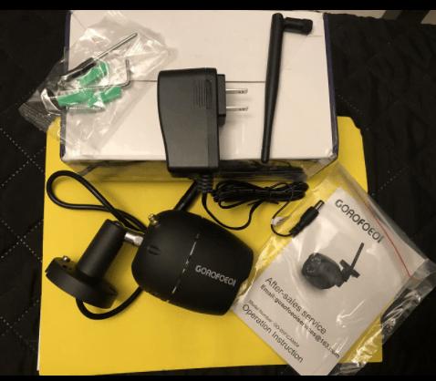 GOAOFOEOI Outdoor Camera 1