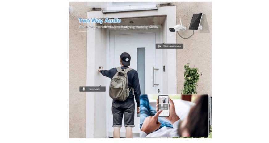 Jennov P61 Solar Outdoor Camera 4