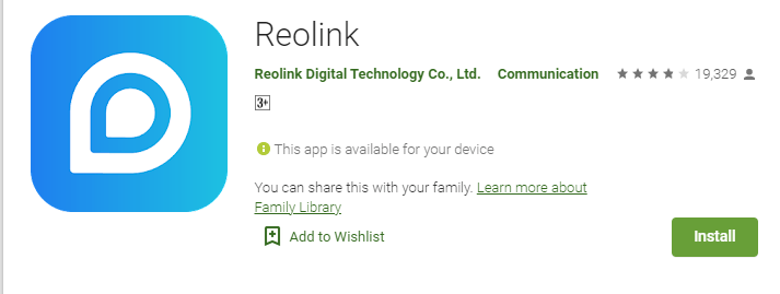 Reolink Argus Pro Cam 17