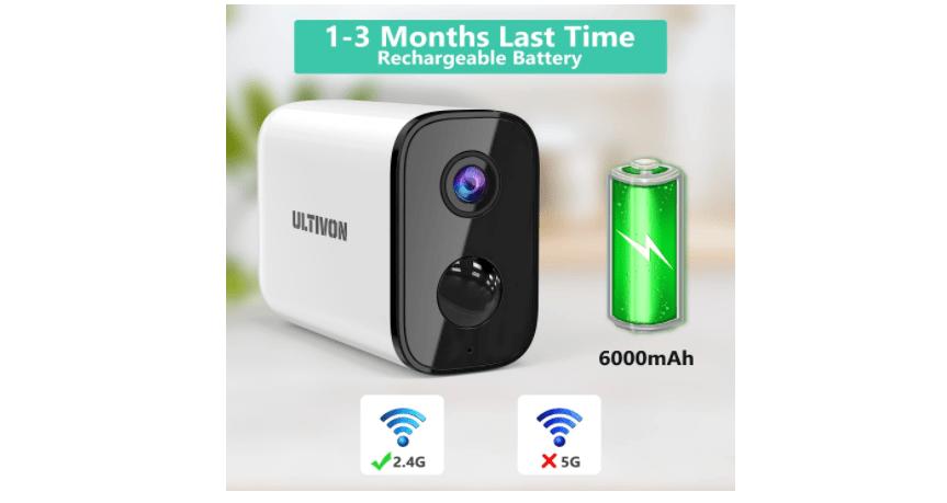 Ultivon E100 Camera 1