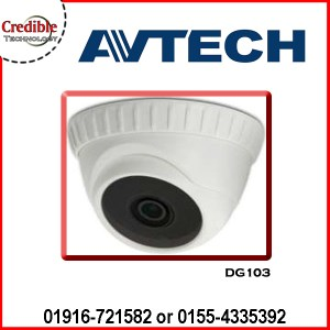 DG103 HD CCTV 1080P IR Dome Camera