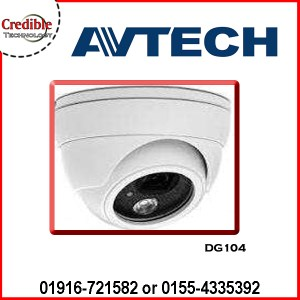 DG104 Avtech HD CCTV IR Dome Camera
