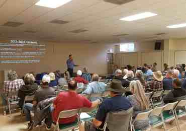 CCWD Discusses Rate Changes at Copperopolis Town Hall