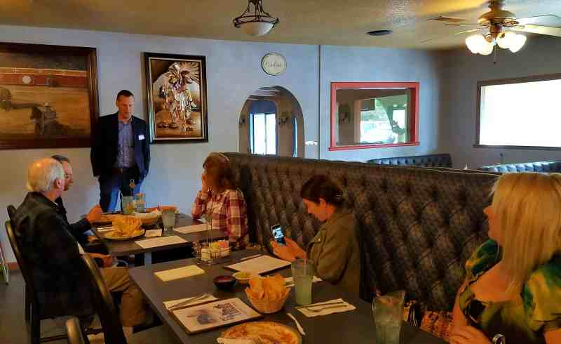 CCWD speaks to the Valley Springs Area Business Association Thursday April 5, 2018.