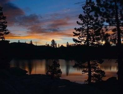 Sunrise at Utica Reservoir
