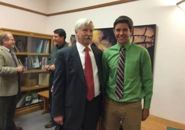 CCWD Awards $500 Scholarship to Bret Harte Senior