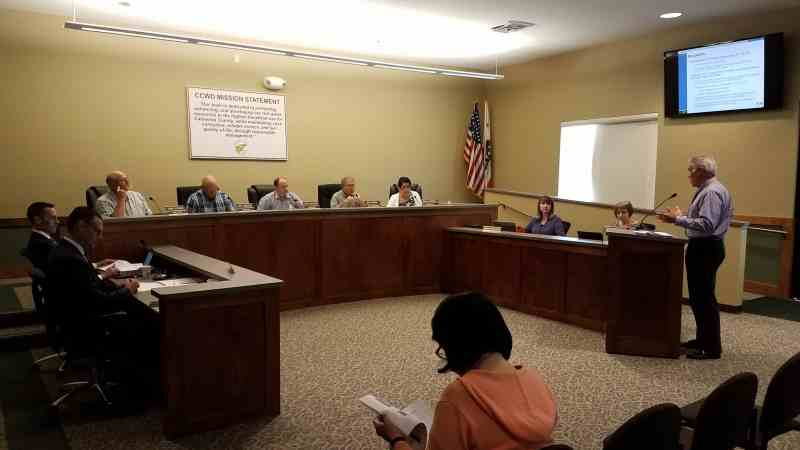 CCWD holds a public rate hearing on May 23, 2018