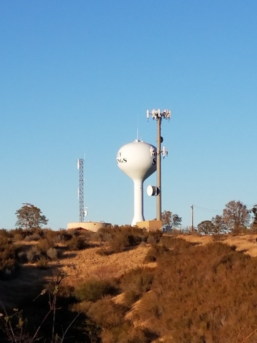 CCWD's 602 Water Tank in Valley Springs
