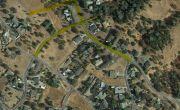 CCWD smoke testing map in Copperopolis.