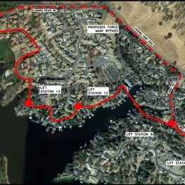Lake Tulloch Sewer Improvements - East
