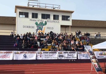 CCWD Attends On the Right Track Event at Bret Harte High School