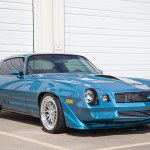 Blue 1979 Chevrolet Camaro Pro Touring Ccw Classic Ccw Classic 2 Wheels