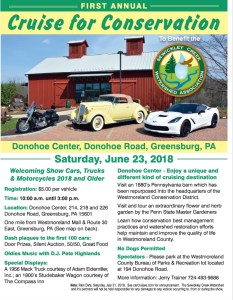 1st Annual Cruise for Conservation @ Donohe Center | Greensburg | Pennsylvania | United States