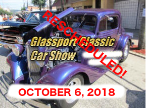 CCWP - RESCHEDULED - Glassport Classic Car Show @ Downtown Glassport | Glassport | Pennsylvania | United States