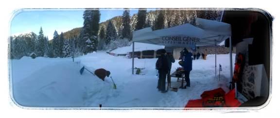Le PGHM dans le cadre d'une sensibilisation sur les risques Avalanche