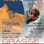 affiche de la Soirée Montagne du GMA 500 du 22 11 2013