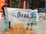 Contents les Benj avec la dotation Béal proposée par Sport Ev