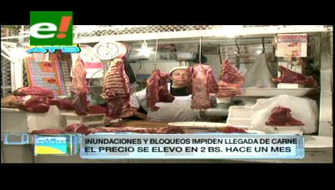 Comerciantes advierten escasez de carne de pollo y res en las ciudades capitales