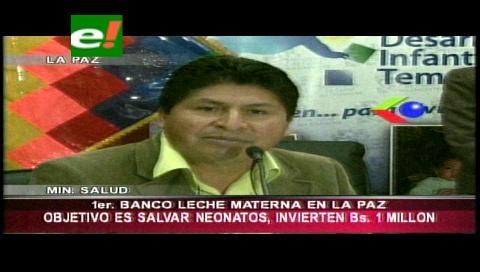 La Paz alberga el primer Banco de Leche Materna en Bolivia