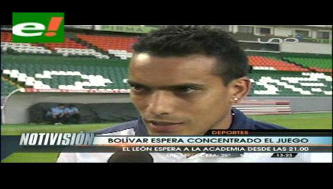 La Previa. Bolívar propone línea de cinco al fondo para jugar con León