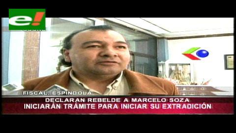 Declaran rebelde ante la ley al ex fiscal Marcelo Soza