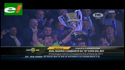 """Los goles del """"Rey Madrid"""""""