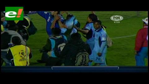 Bolívar clasificó a cuartos de la Copa Libertadores