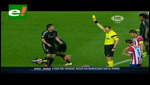 Atlético de Madrid y Chelsea empatan sin goles